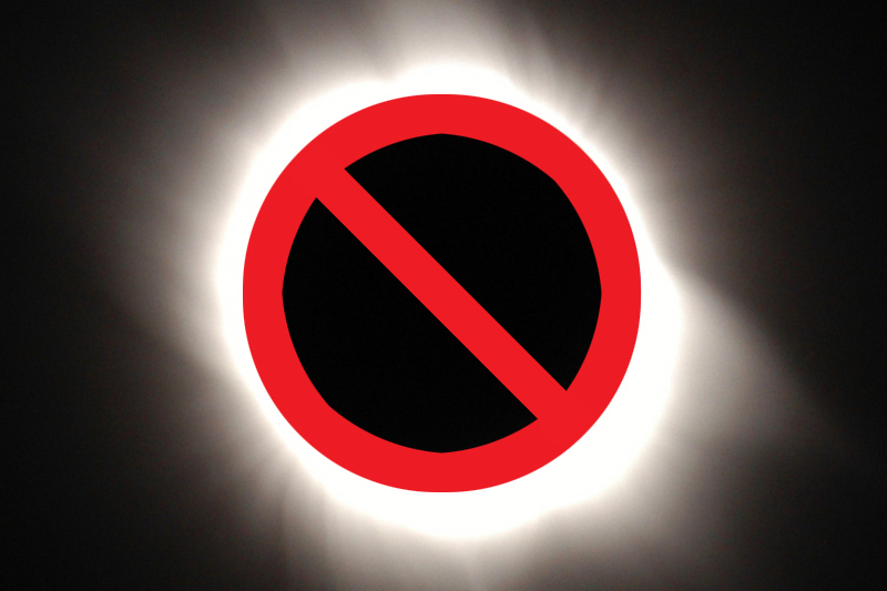 no eclipse